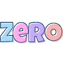 Zero pastel logo