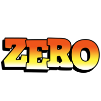 Zero sunset logo