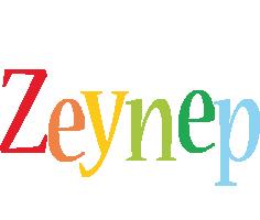 Zeynep birthday logo