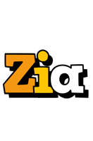 Zia cartoon logo