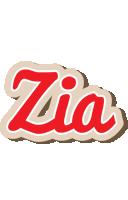 Zia chocolate logo