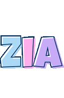 Zia pastel logo