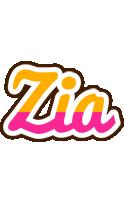 Zia smoothie logo