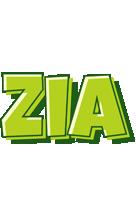 Zia summer logo