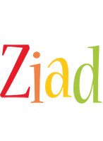 Ziad birthday logo