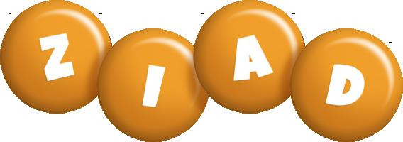 Ziad candy-orange logo