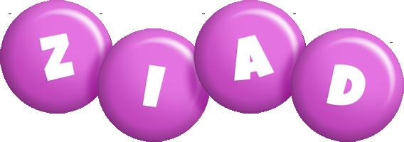 Ziad candy-purple logo