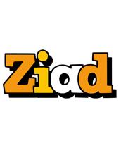 Ziad cartoon logo