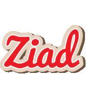 Ziad chocolate logo