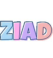Ziad pastel logo