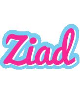 Ziad popstar logo