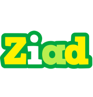 Ziad soccer logo