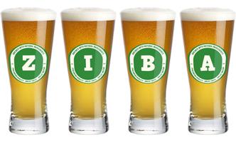 Ziba lager logo