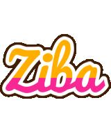 Ziba smoothie logo