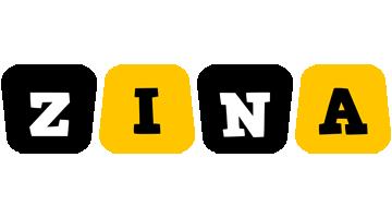 Zina boots logo