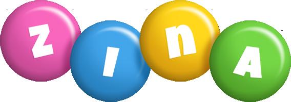 Zina candy logo