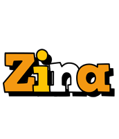 Zina cartoon logo