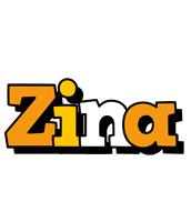 Zina cartoon logo