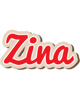Zina chocolate logo