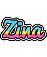 Zina circus logo