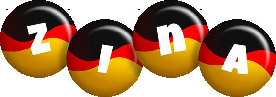 Zina german logo