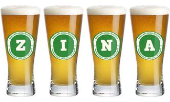 Zina lager logo