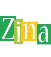Zina lemonade logo
