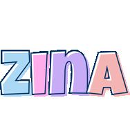 Zina pastel logo
