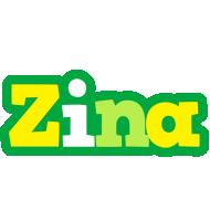 Zina soccer logo