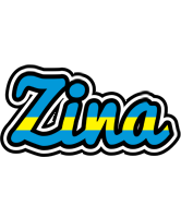 Zina sweden logo