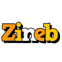 Zineb cartoon logo