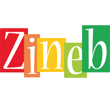 Zineb colors logo