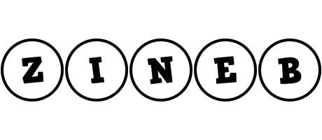 Zineb handy logo