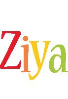 Ziya birthday logo
