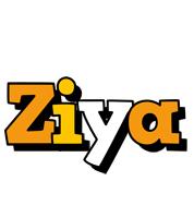 Ziya cartoon logo
