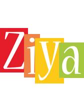 Ziya colors logo