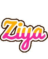 Ziya smoothie logo
