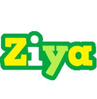 Ziya soccer logo
