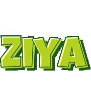 Ziya summer logo