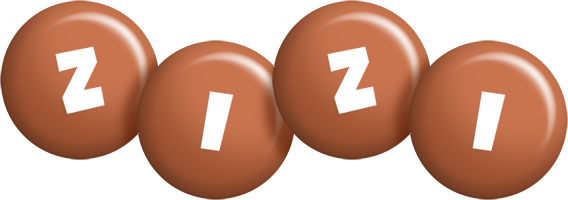 Zizi candy-brown logo