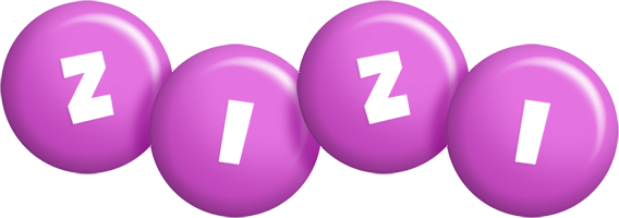 Zizi candy-purple logo