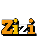 Zizi cartoon logo