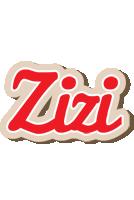 Zizi chocolate logo