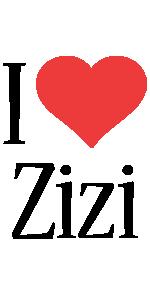 Zizi i-love logo