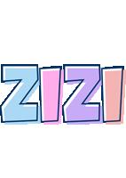 Zizi pastel logo