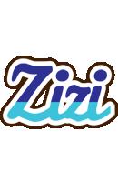 Zizi raining logo