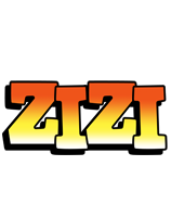 Zizi sunset logo