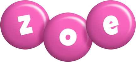 Zoe candy-pink logo