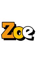 Zoe cartoon logo