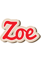 Zoe chocolate logo